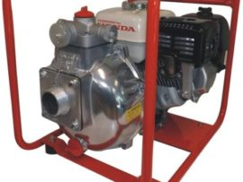 Aussie Fire Captain Pump Honda GX160 Fire Fighting Pump