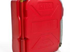 Rega red fire fighting knapsack back Bushfire Store
