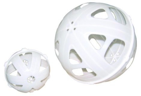 1500 litre ball baffle system