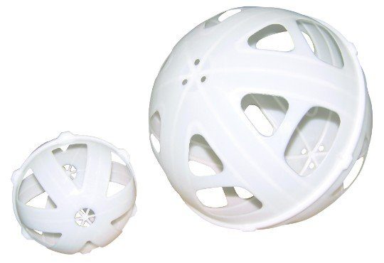 800 litre ball baffle system