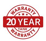 20 Year Tank Warranty Bushfire Store