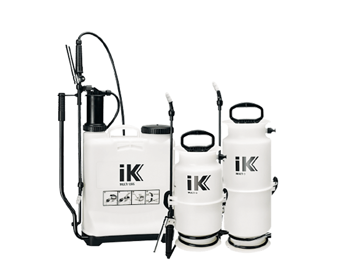 Hand and backpack sprayers