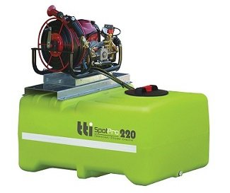 Spraying unit for ATV